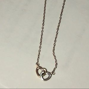 f7b46e248b25 Pandora Jewelry - Pandora entwined hearts necklace